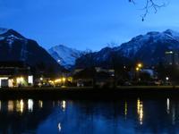 0363 Interlaken - Fackelspaziergang - Abendstimmung