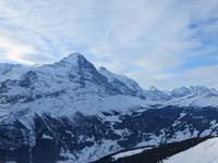 168 Ausflug auf den First - Blick zum Eiger und zur Jungfrau