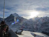 168 Ausflug auf den First -Blick zum Schreckhorn 4.078 Meter und zum Lauteraarhorn 4.042 Meter
