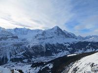 173 Ausflug auf den First - Blick nach Grindelwald