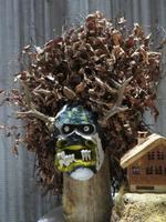 Säntis-das Hotel - Maske eines Silvester-Chlauses