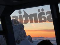 Talfahrt vom Säntis - Sonnenuntergang