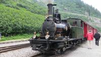 207 Fahrt mit der Furka-Dampfbahn