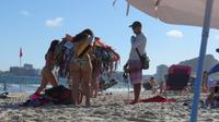 Bikini Anprobe am Strand :)