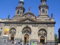 Kathedrale in Santiago de Chile