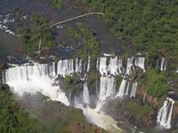 Iguazu Wasserfälle, Brasilien, Helikopterflug