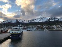 Auslaufen aus dem Hafen von Ushuaia