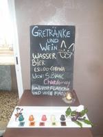 Speisekarte extra auf deutsch für uns