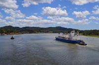 Fahrt durch den Panamakanal - Gatún-See