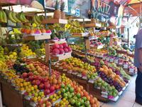 Fruchtmarkt in Lima, Peru