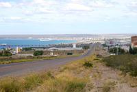 Blick auf Puerto Madryn