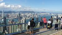 Hongkong, Blick vom Victoria Peak