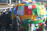 Vorm Jokhang Tempel