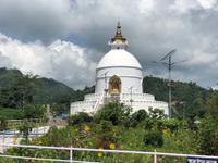 Nepal - Pokhara, World Peace Pagode