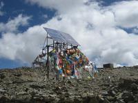Tradition und Moderne auf dem Pass Khampa La