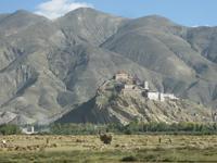 Die Burg von Gyantse