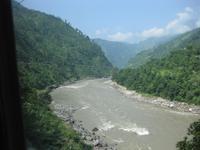 Auf der Strecke vom Chitwan Nationalpark nach Mugling