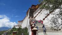 0689 Lhasa - Besuch des Potala-Palastes