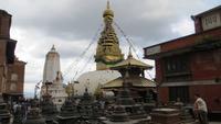 1257 Kathmandu - Swayambhunath-Stupa auch Affentempel genannt
