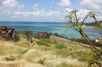 Blick von Fort Luis auf Marigot