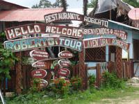 Mittagessen in Cahuita