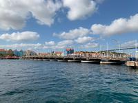 Queen Emma Bridge in Willemstad