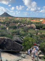 Blick auf den Heuberg von den Casibari-Felsen