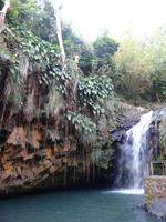 Sprung aus großer Höhe - Wasserfall Grenada