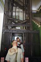 Aufzug nach oben
