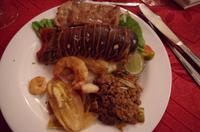 Mittagessen Trinidad