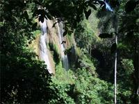 Roccio Wasserfall im Nationalpark Guanayara