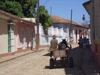 Strassenszene in Trinidad