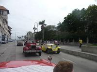 Lustige Stadtrundfahrt in Havana