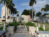 Das schlichte Grabmal Fidel Castros