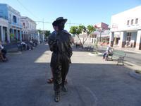 Benny More - ein beliebtes Fotomotiv in Cienfuegos