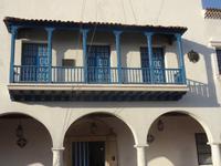 Von diesem Balkon verkündete Fidél Castro 1959 den Sieg der Revolution