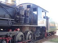 Lokomotive der Zuckerbahn in Remedios