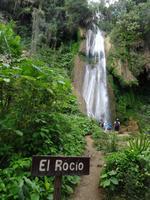 Der Wasserfall El Rocio