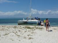 Cayo Blanco in der Karibik
