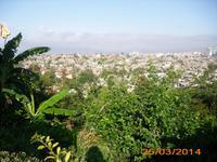 Blick über Santiago de Cuba