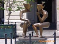 Kunst 'das Gespräch'