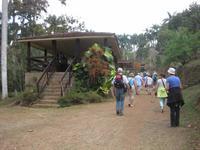 Wir haben des Ende der Wanderung durch den Parque Guanayara erreicht