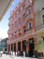 Und weiter in Havanna auf den Spuren Hemingways: Hotel Ambos Mundos