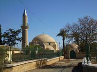 Larnaca am Salzsee - Hala Sultan Tekke Moschee