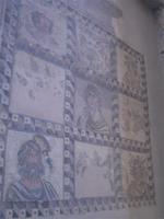 Mosaik im Haus des Dionisos