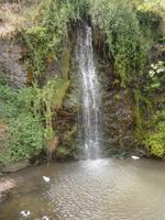Spaziergang durch Kakopetria - Wasserfall im Zentrum