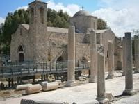Pafos - Basilika und Kreukuppelkirche