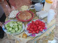 zypriotisches Frühstück bei Loulla