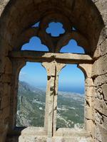 Das Fenster der König von der Burg St. Hilarion