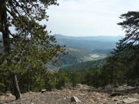 Blick auf das Troodosgebirge